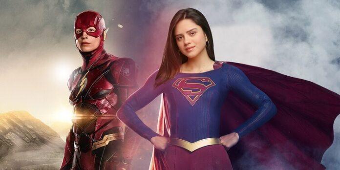 Filme The Flash mostra Supergirl decolando no set de filmagens