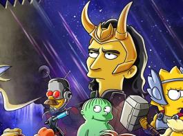 Disney + Anuncia Paródia dos Simpsons com Tema Loki, Estrelado por Tom Hiddleston