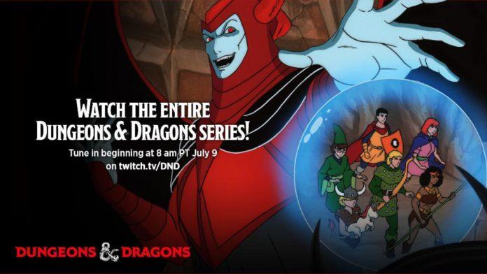 Desenho Classíco de 'Caverna do Dragão' Dungeons & Dragons Será transmitido na Twitch