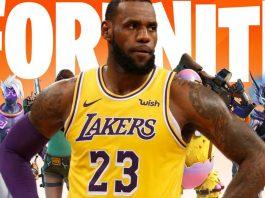 Rumores indicam que LeBron James seria a proxima skin de colaboraçao no Fortnite