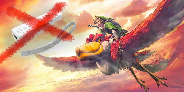 The Legend of Zelda:Skyward Sword HD ,controles de botão irão beneficiar os loftwings