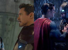 Qual filme de super-heróis de 2016 foi melhor em colocar os heróis uns contra os outros?