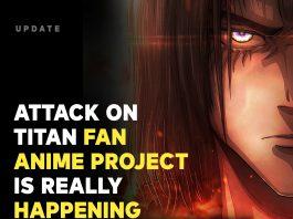 Attack on Titan Manga de Fan está recebendo uma adaptação para anime