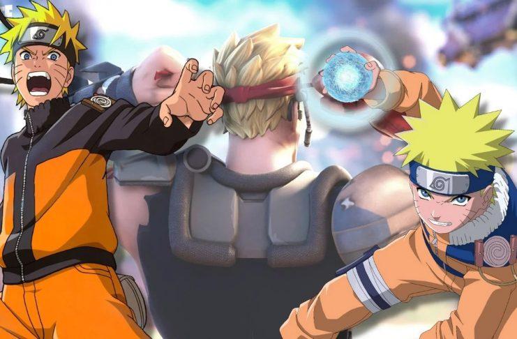 Parece que Naruto está indo para Fortnite