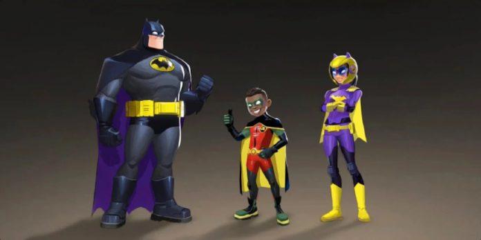 Batwheels 'Batman Robin e Batgirl revelados em imagens de acesso inicial