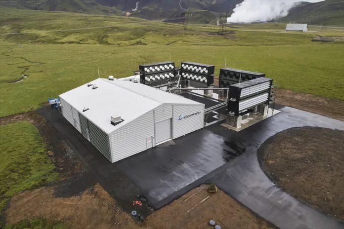 Como a maior usina de captura direta de ar vai sugar CO2 da atmosfera