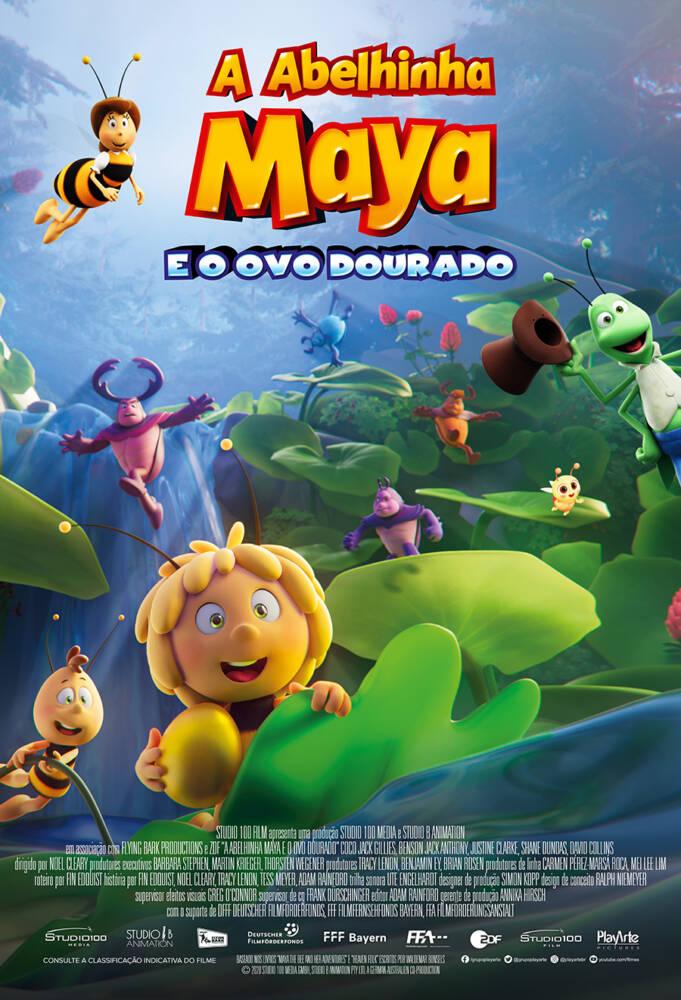 'A Abelhinha Maya e o Ovo Dourado' ganha trailer DUBLADO e cartaz nacional 1