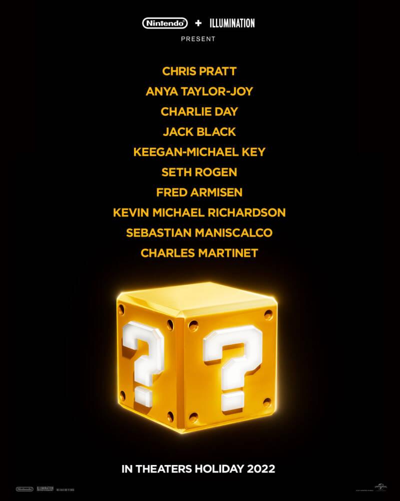 Super Mario vai ganhar filme com Chris Pratt e Anya Taylor-Joy; Confira o cartaz! 1