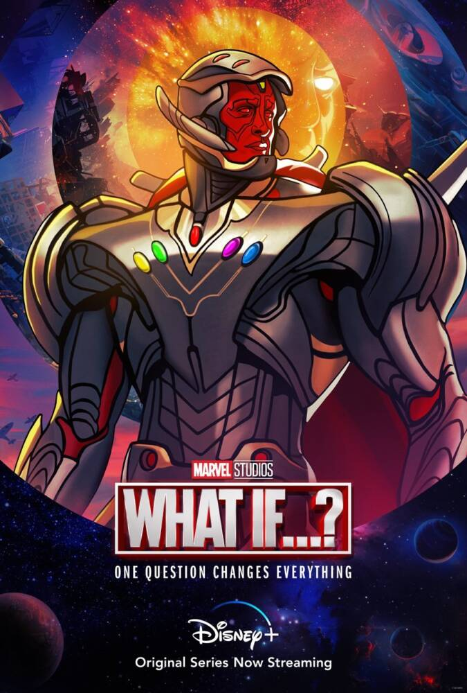 'What If…?': Ultron toma posse das Joias do Infinito no novo pôster da animação; Confira! 1
