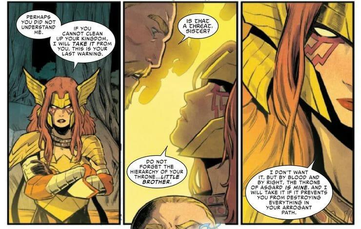 Não é Loki: Thor tem um novo rival pelo trono de Asgard 1