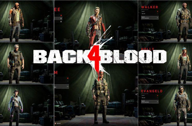 Back 4 Blood: Cada Personagem e Suas Habilidades