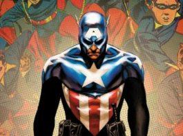 Bucky Barnes usa traje do Capitão América e ganha novo escudo